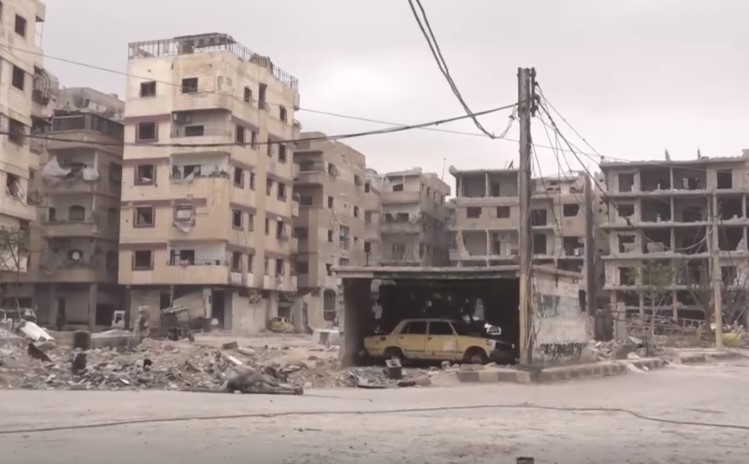 Video Confirmation: Government Troops In Liberated Area Of Ayn Tarma In Eastern Ghouta