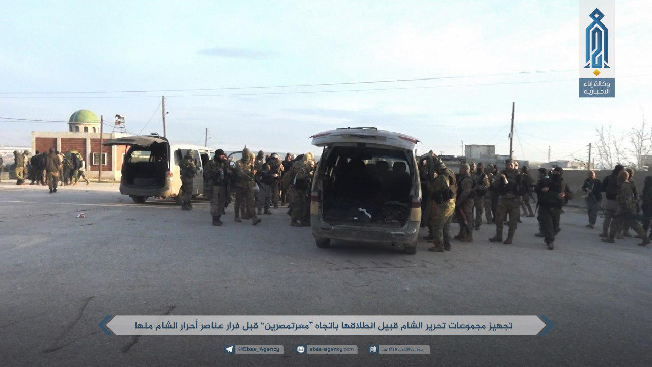 Hay'at Tahrir al-Sham Rapidly Advances Against SLF In Northern Idlib And Western Aleppo (Photos)