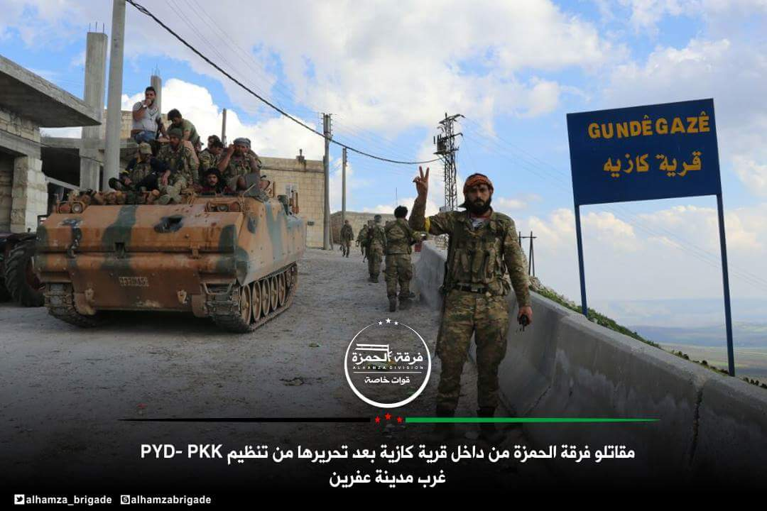 Turkish Army Captures More Villages In Afrin. Syrian Army Starts Deployment South Of Afrin (Photos, Video)