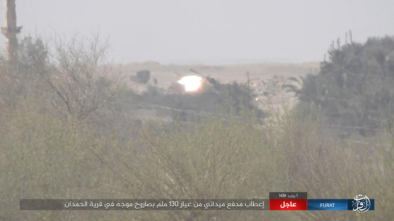 ISIS Steps Up Operations Against Syrian Army In Deir Ezzor (Photos)