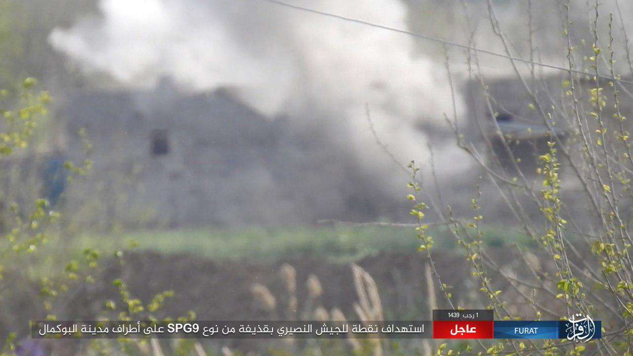 Deir Ezzorのシリア陸軍に対するISISの措置を開始(写真)