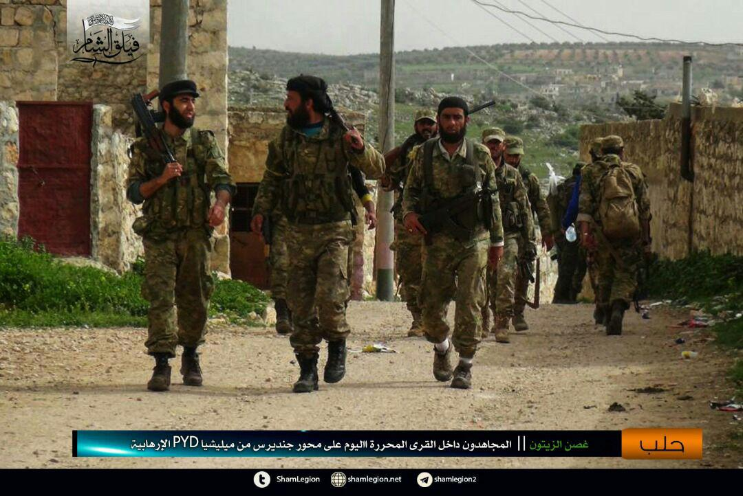 Turkish Army Captures Four More Villages South Of Afrin (Photos)