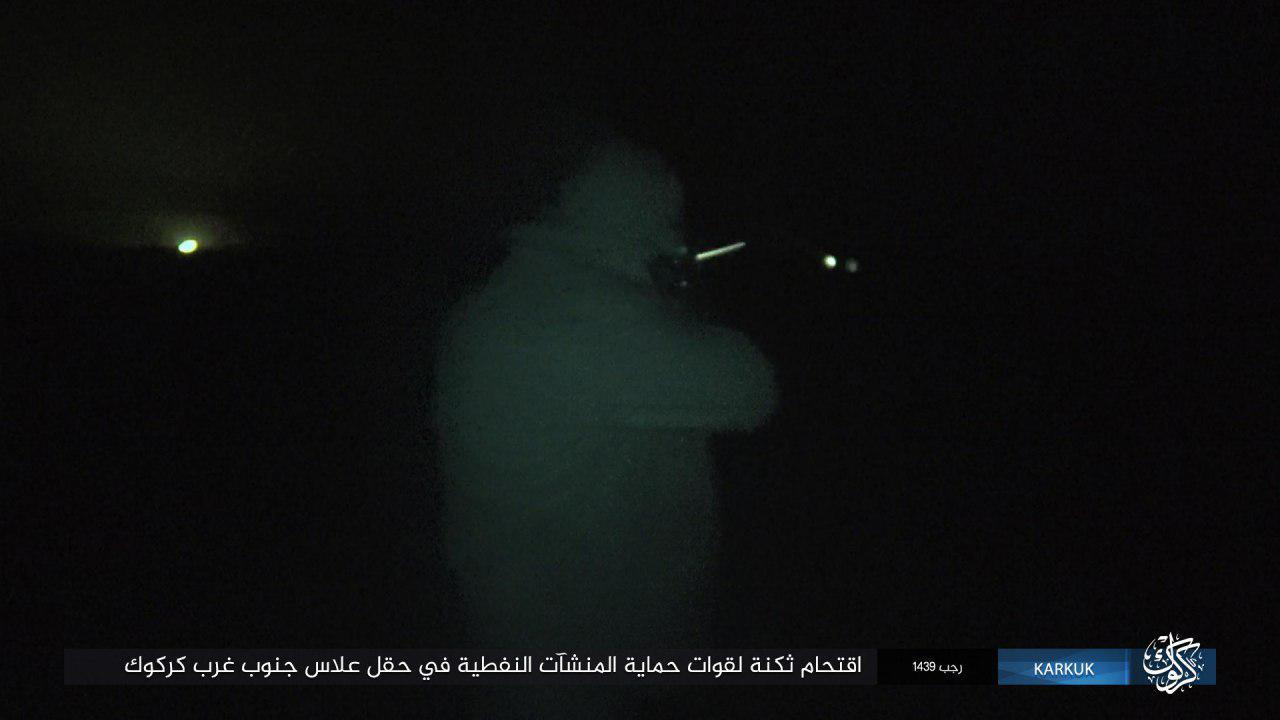 ISIS Attacks Oil Field Southwest Of Iraq's Kirkuk (Photos)