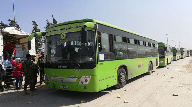 Syrian Army Enters New Town In Eastern Ghouta. Second Batch Of Faylaq al-Rahman Fighters Leave Toward Idlib (Videos, Photos)