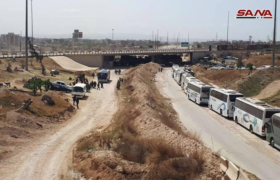 Russian Forces Foiled Plot To Conduct Sucide Bombings Targeting Evacuation Buses In Eastern Ghouta