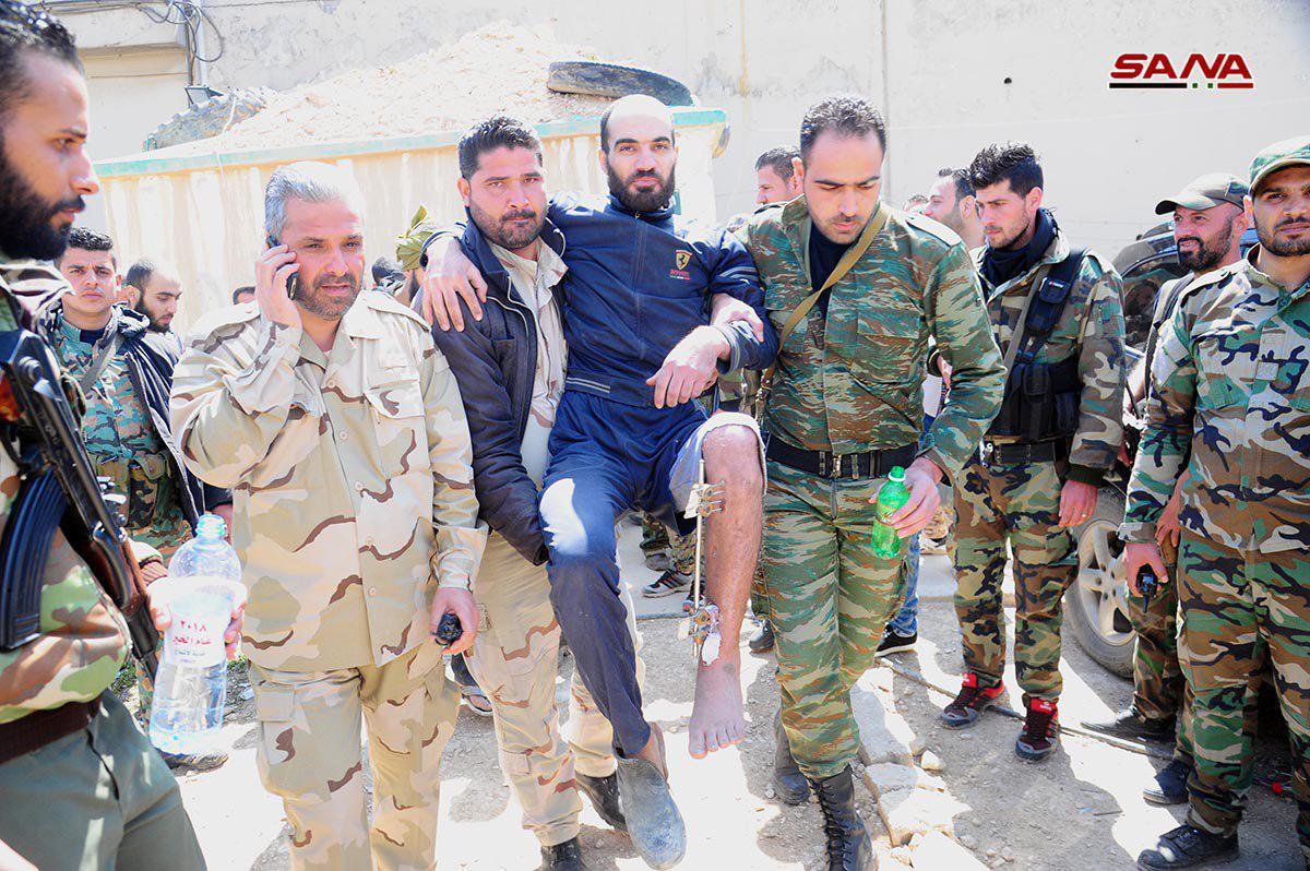 Syrian Army Enters Four Key Towns In Eastern Ghouta As Last Batch Of Faylaq al-Rahman Fighters Depart Towards Idlib