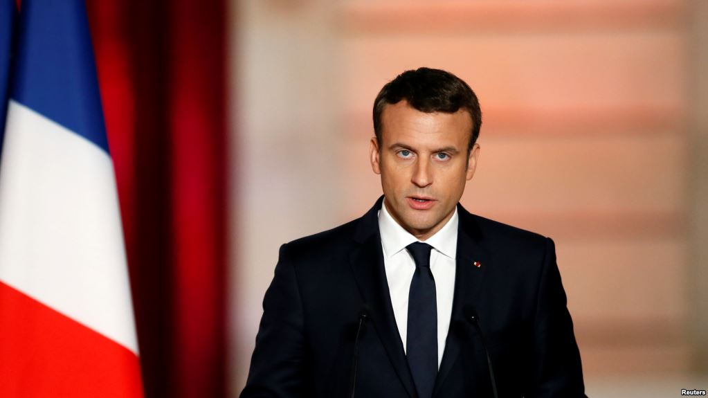 Macron: Any French Strikes Will Target Assad's Chemical Weapons Stocks