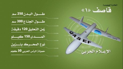 Houthi Qasef-1 Suicide UAV Strikes Saudi Abha Airport, Aramco Facility - Al-Masirah TV