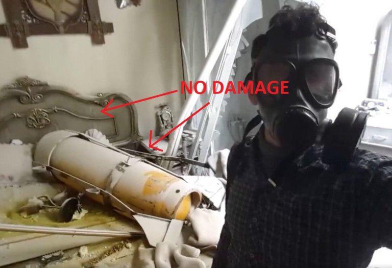 """Видео с газовыми баллонами от """"Белых Касок"""", которое использовалось в качестве доказательства газовых атак в Думе, вызывает некоторые вопросы"""