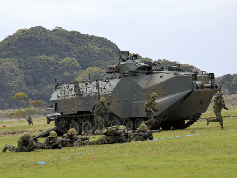 Japan Creates Its First Amphibious Rapid Deployment Brigade To Confront China