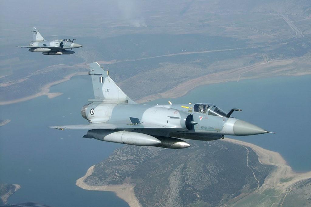 Greek Mirage Fighter Jet Crashed Near Skyros Island Returning After Turkish Jets Interception
