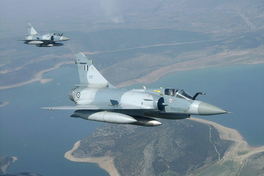 Greek Mirage Fighter Jet Crashed Near Skyros Island Returning After Turkish Jets Interception