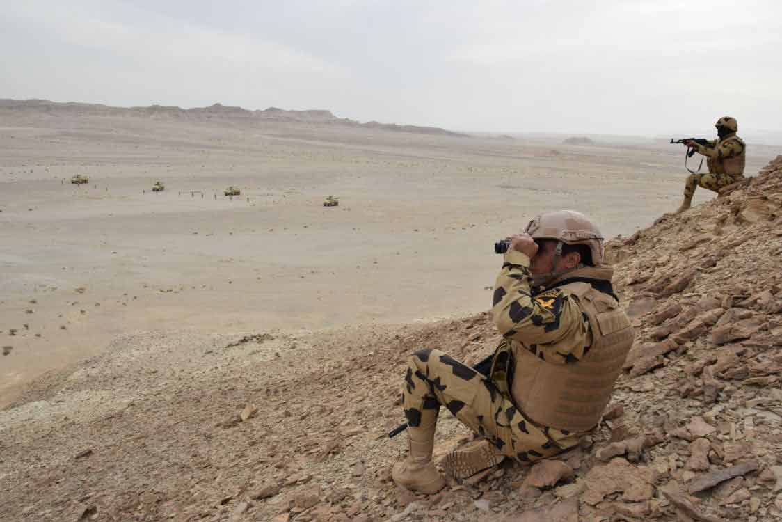 Egyptian Army Repels Large ISIS Attack In Sinai Peninsula