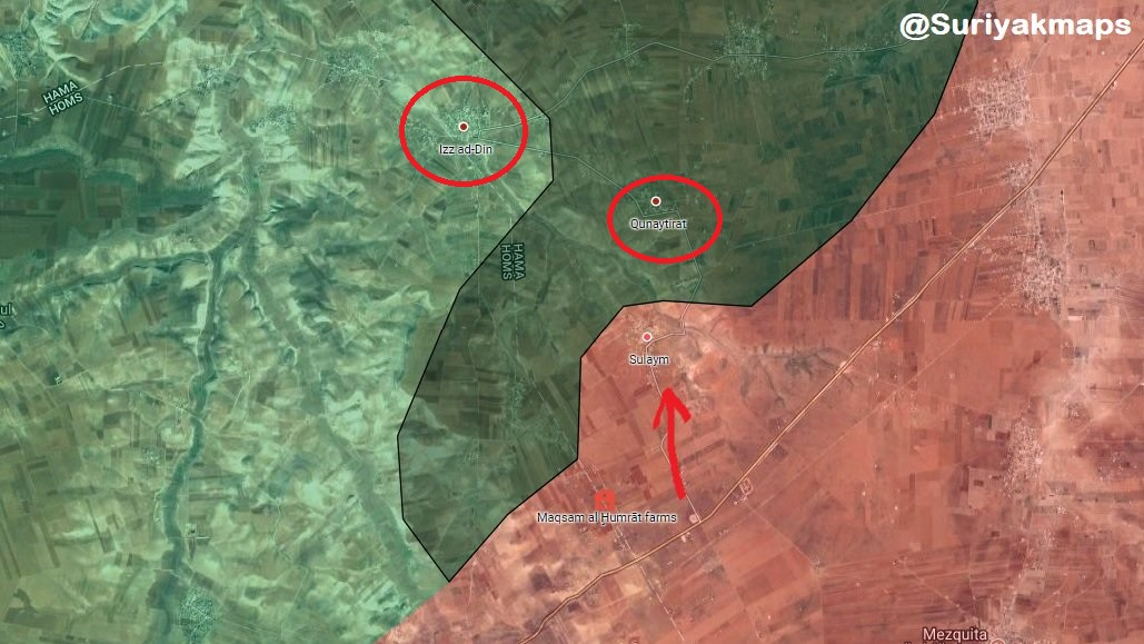 Syrian Army Launches Military Operation, Captures Three Villages In Northern Homs Pocket