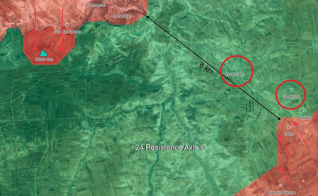 Syrian Army Develops Advance In Rastan Pocket, Liberates More Areas
