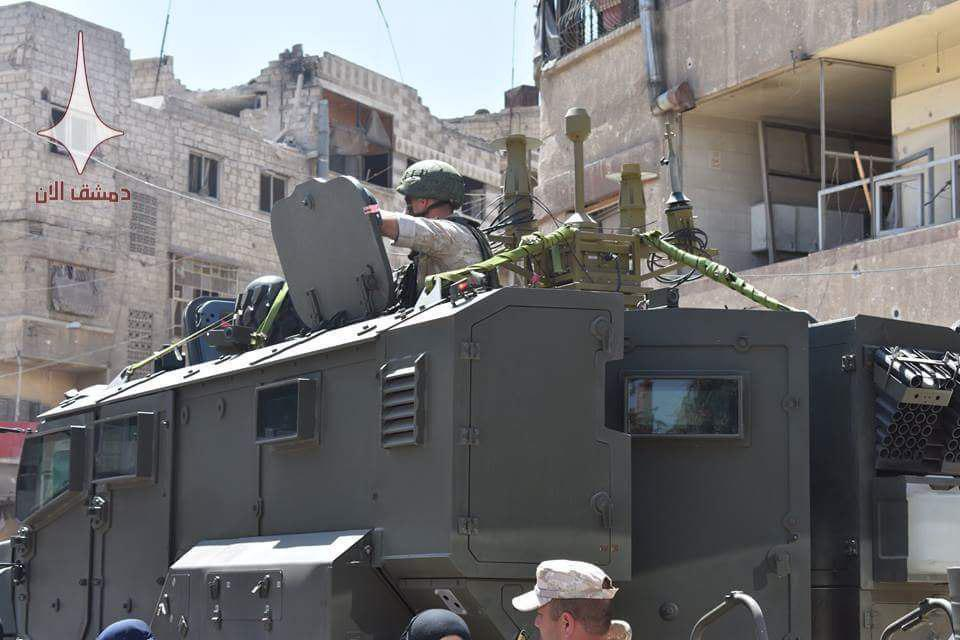 Video, Photos: Russian Troops In Syria's Douma