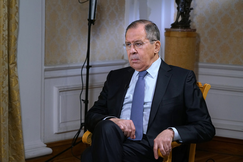 Russia's Stance On Skripal Case, Douma Chemical Attack And US Strikes On Syrai - Sergey Lavrov's Interview