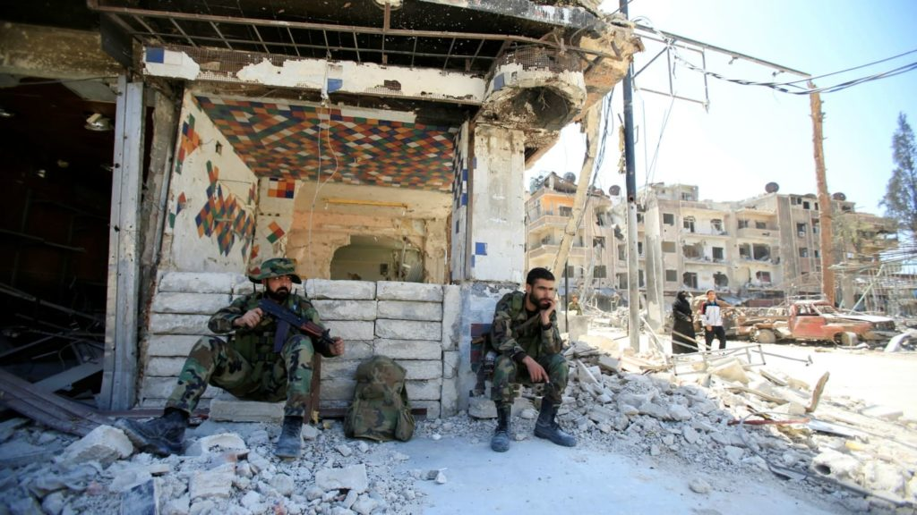 OPCW Inspectors Enter Douma To Probe 'Chemical Weapons' Attack