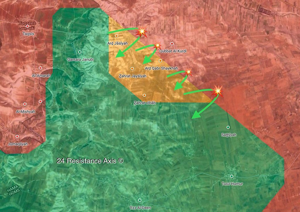 Syrian Forces Repelling Militants' Counter-Attack In Rastan Pocket (Maps)