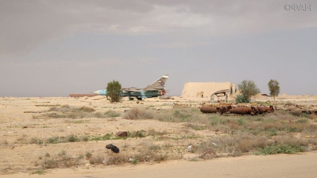 Photos Show Syria's T4 Airbase After Israeli Airstrike