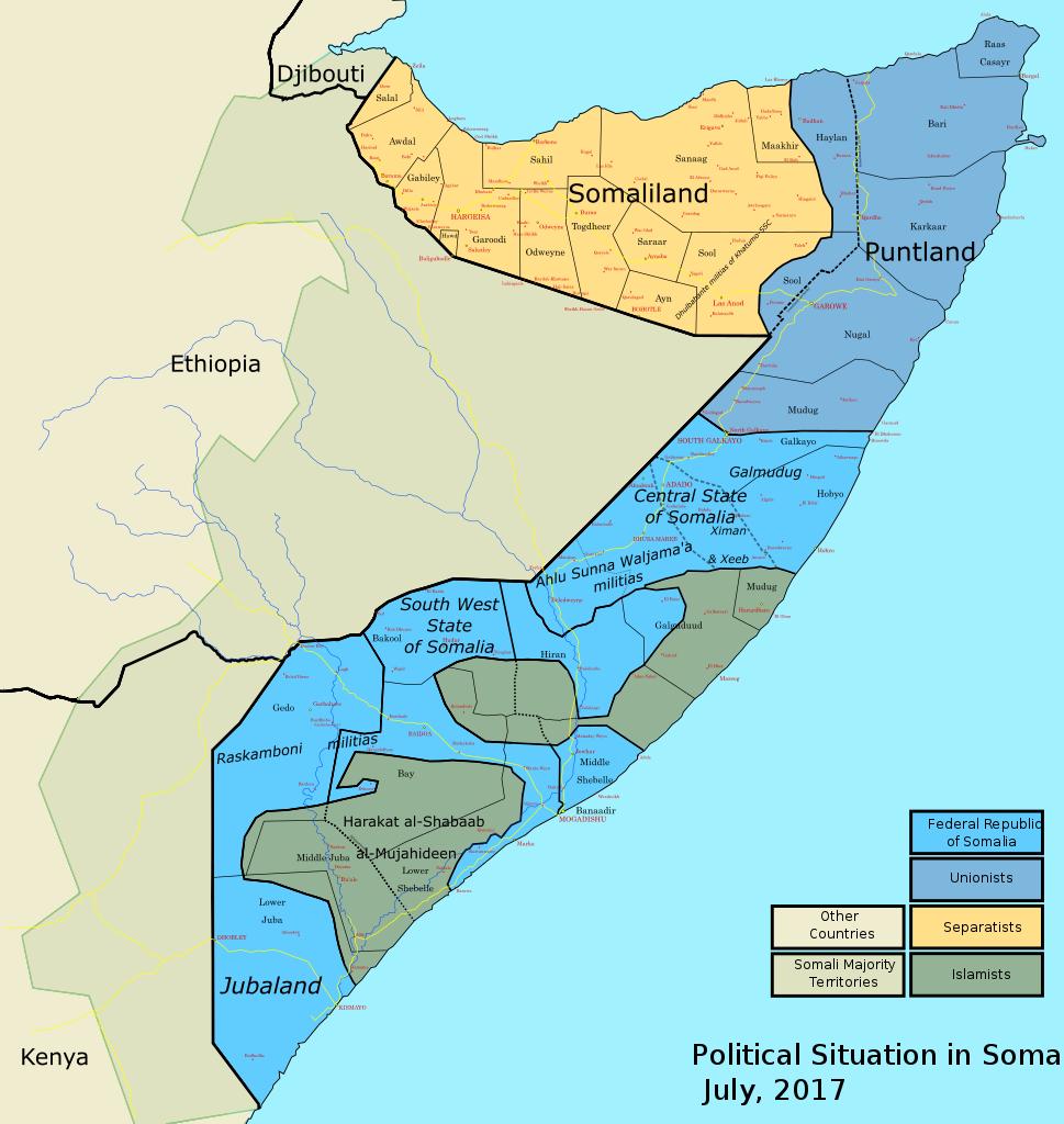 Russia May Build Military Base In Somaliland - Media