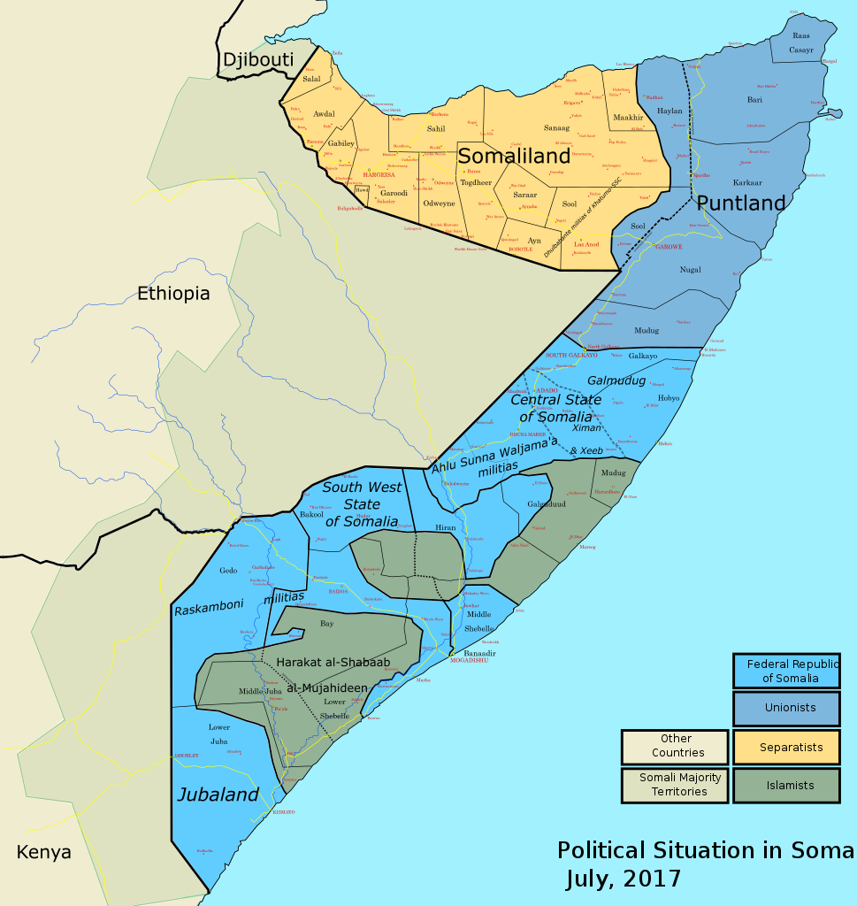 Russia May Build Military Base In Somaliland - Media