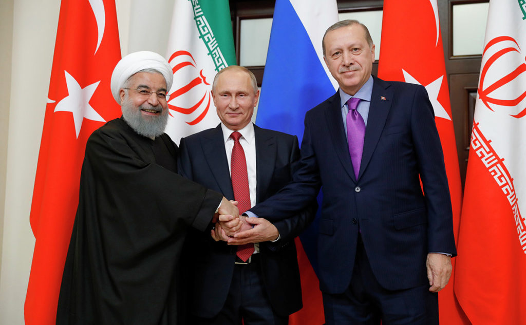 Turkish, Russian, Iranian Presidents Meet In Ankara To Discuss Syria, Other Topics