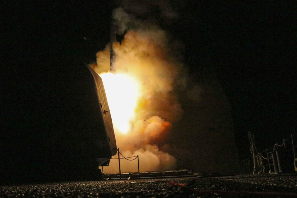 US Missile Strikes in Syria Throw Down the Gauntlet to Russia. How Will Putin Respond?