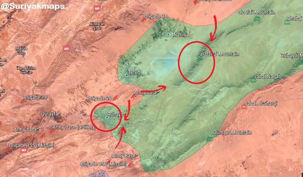 Syrian Army Besieges Key Town In Eastern Qalamun. Militants In Region Are About To Surrender