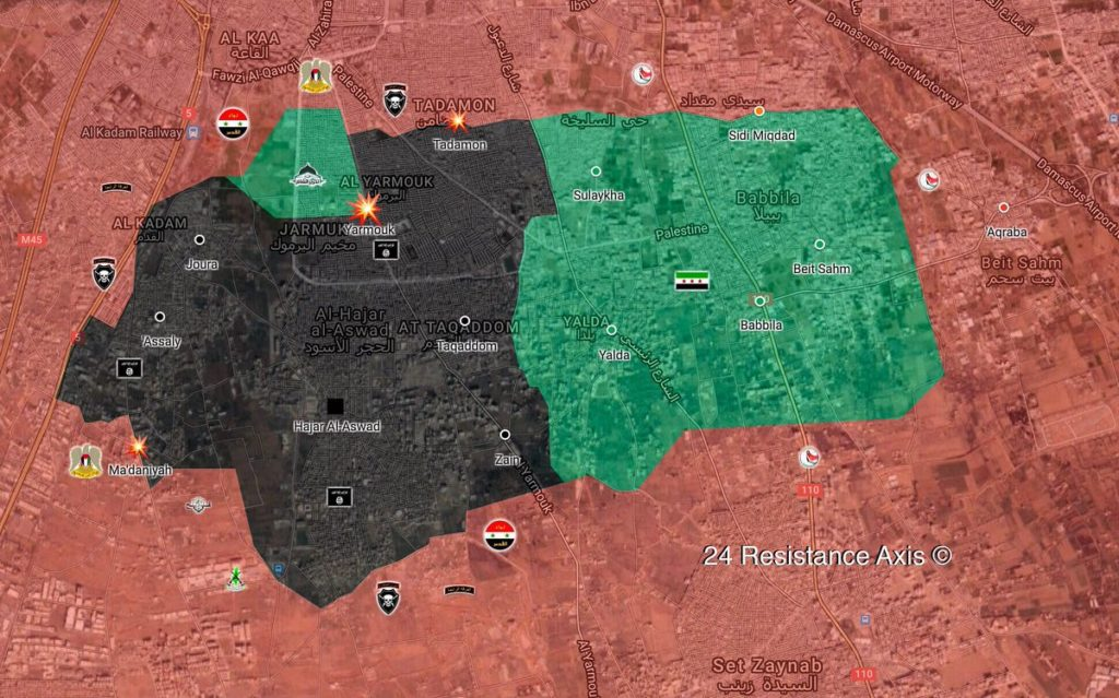 Syrian Annti-ISIS Operation In Southern Damascus: What Units Involved?