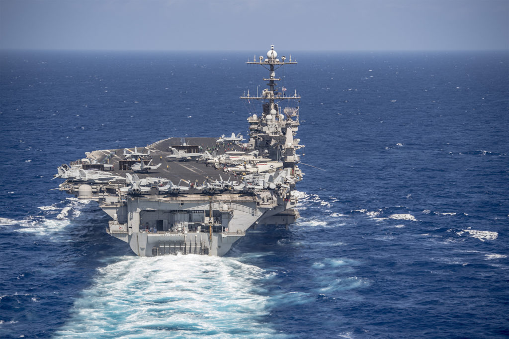 Truman Carrier Strike Group Enters Mediterranean As Tensions Remain High In Region