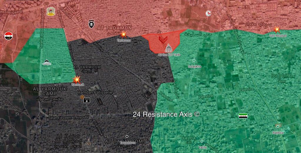 18 combattants prorégime tués dans l'opération à Damas — Syrie
