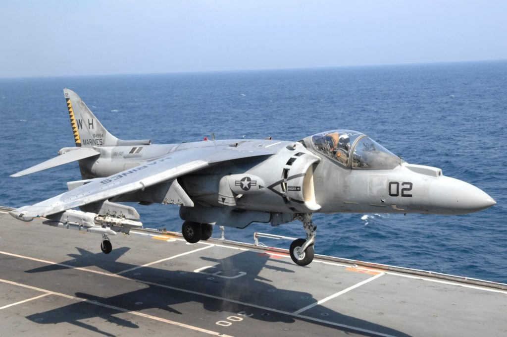 US Marine Corps Harrier Jet Crashes In East Africa