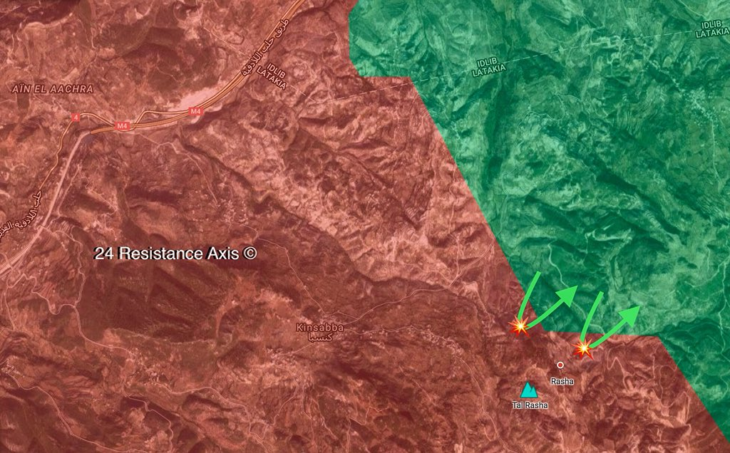 Hay'at Tahrir al-Sham And Its Allies Attack Syrian Army Positions In Northern Lattakia