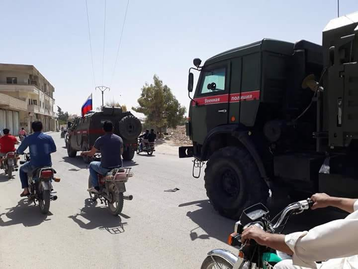 Russian Military Police Deploys In Key Town In Eastern Qalamun After Militants' Surrender