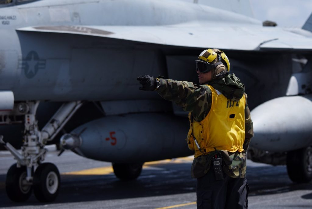 U.S. May Keep Aircraft Carrier In Mediterranean To Couner Russian, Iranian Influence In Region