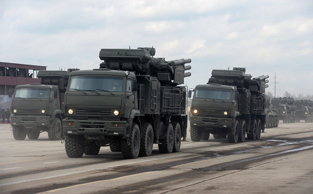 Russia Sends More Pantsir-S Air Defense Systems To Syria - Reports