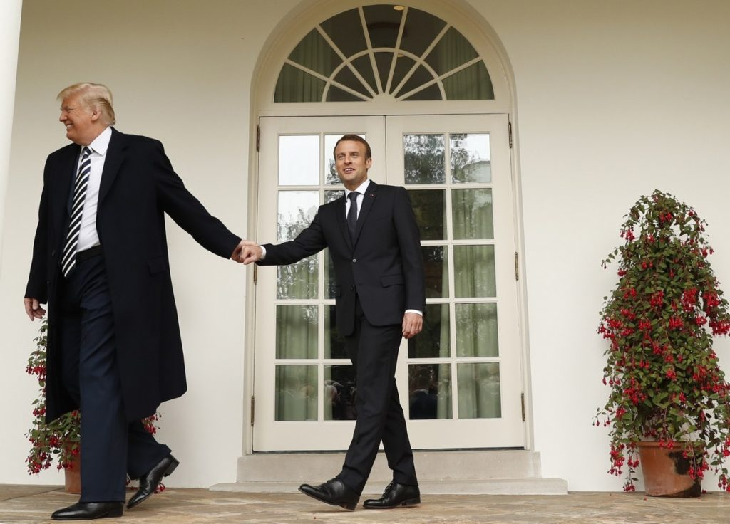 Macron: France Is Ready To Increase Military Commitment To US-led Coalition In Syria