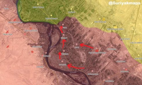 Syrian Army Attacks US-backed Forces, Enters Four Villages In Deir Ezzor