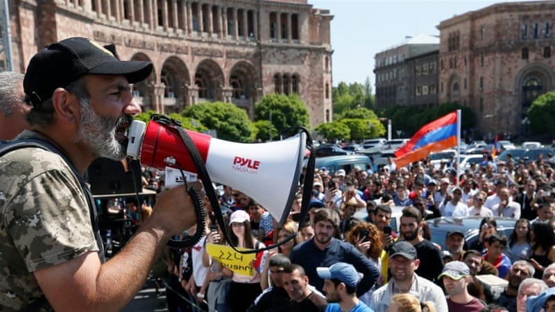 Armenia Crisis: Opposition Leader Pashinyan Officially Nominated For Prime Minister