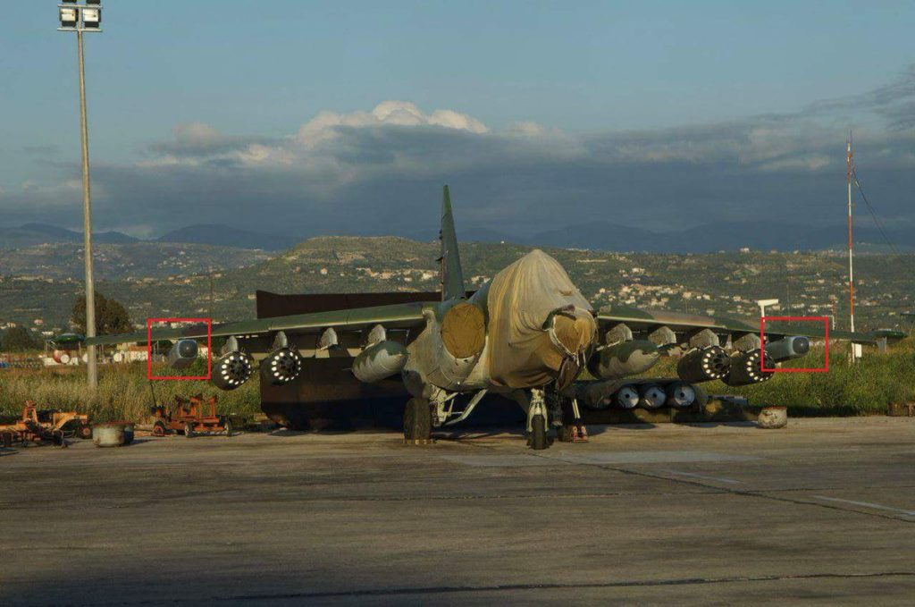 Russia's Deeply Modernized Su-25SM3 Attack Aircraft With Modern Electronic Warfare System In Syria (Photo)