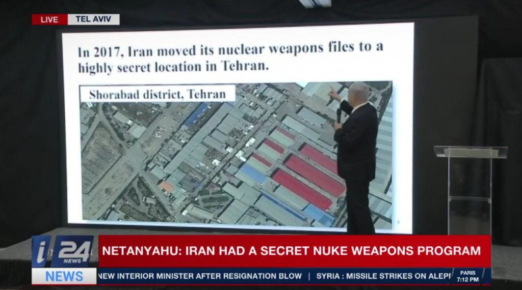 Netanyahu Accuses Iran Of Having Secret Program TO Produce Nuclear Weapons