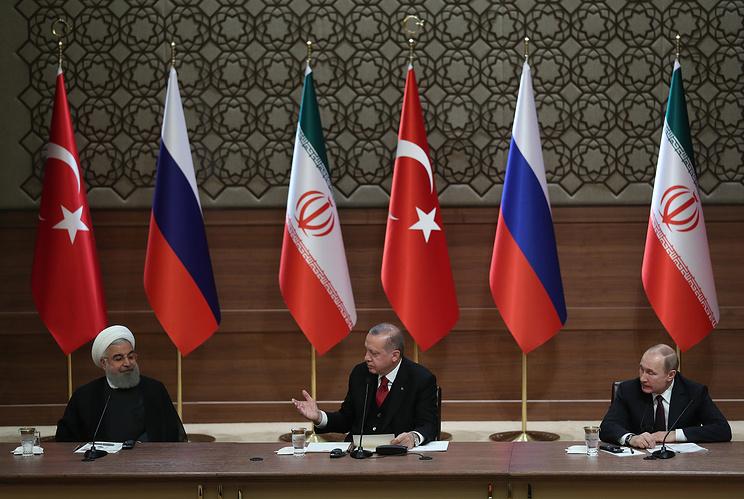 Presidents Of Iran, Turkey And Russia Met In Ankara