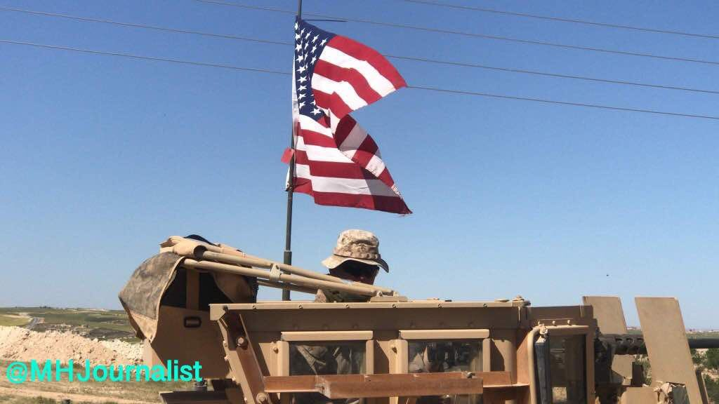 More And More Foreign Troops Deploy To Syria's Manbij