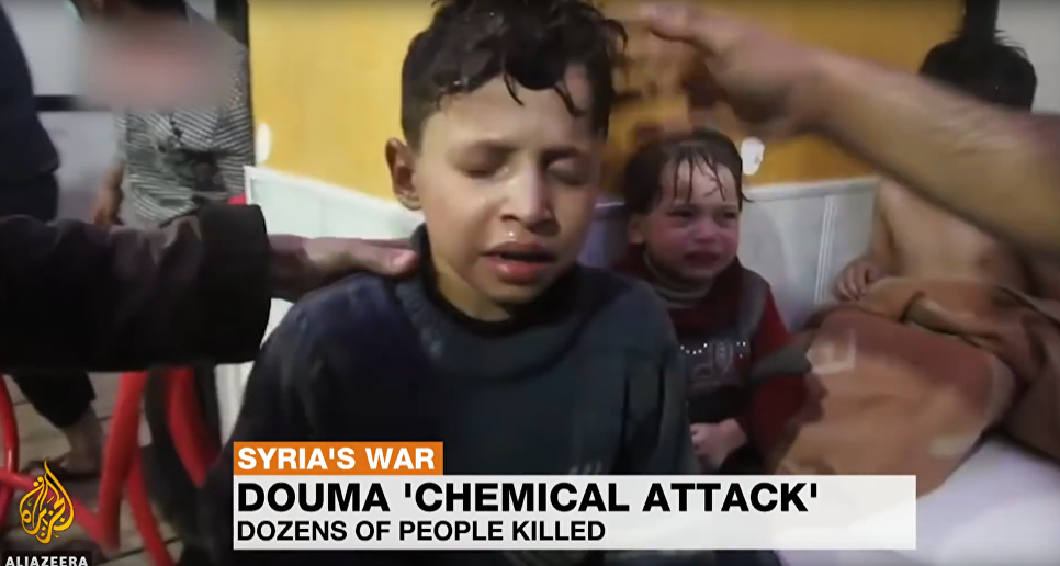 Journalists Found Boy Filmed In White Helmets' Douma Chemial Attack Video. He Did It For Food