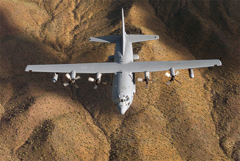 Russian EW Systems 'Disabling' U.S. EC-130 Electronic Warfare Aircraft In Syria