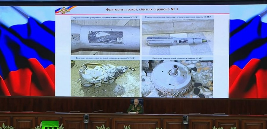 """More Photos Of Trump's """"Smart"""" Missiles Intercepted In Syria"""