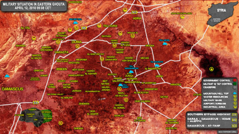 Syrian Forces Took Full Control Of Douma - Russian Military