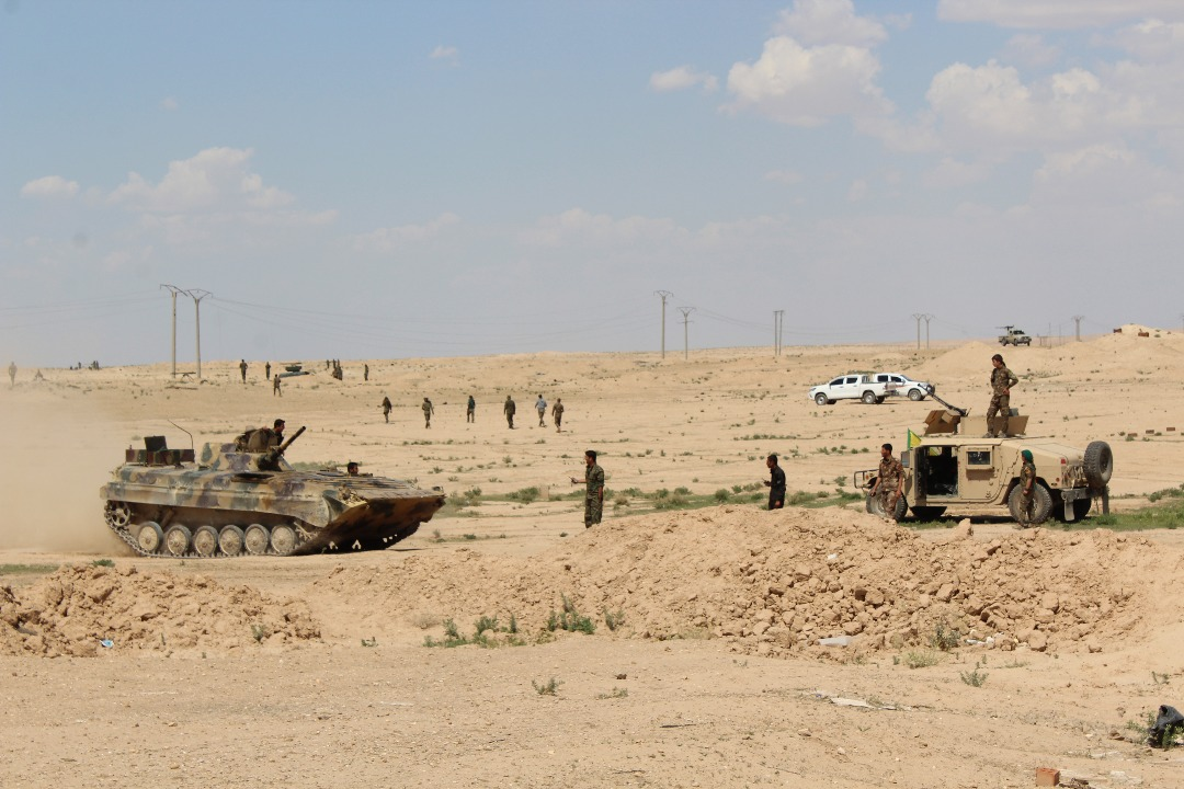 US-backed Forces Prepare For Launching New Operation Against ISIS In Eastern Syria