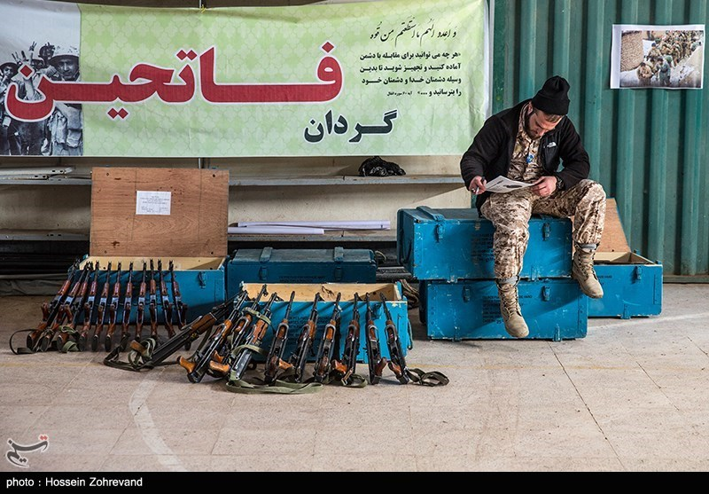 Photo Report: Iranian Basij Militia Training Exercises